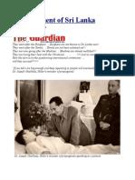 Disfigurement of Sri Lanka