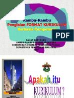Format Penulisan KBK
