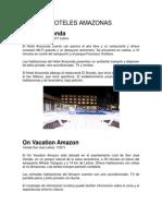 Hoteles Amazonas