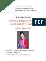 English Endon Mahmood