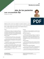 Cuidados Orales de Los Pacientes Con Ortodoncia Fija