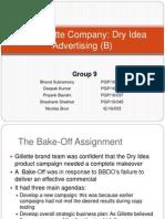 Group B9 Gillette DryIdea(B)