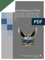 ECUADOR - OBJETIVOS - InDICADORES Reformulacion-plan-estrategico