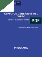 Clase 1 ICI 250 UNAB 2011-1- Aspectos Generales