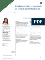 Reabsorcion Radicular Ortodoncia