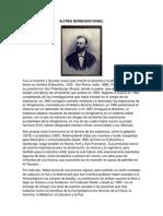 Alfred Bernhard Nobel 1