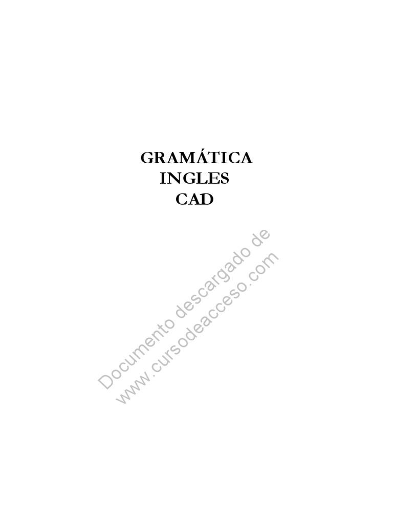 Gramatica Ingles CAD