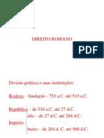 5 - História do Direito - Roma
