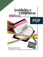 Curiosidades y Conjeturas Biblicas - Jorge de La Rosa