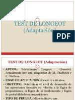 Test Longeot