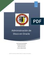 Administración De Disco En Oracle.docx