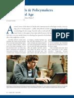 """Against Techno-Panics"" by Adam Thierer, PFF (July 2009 - Inside ALEC)"