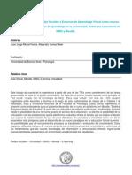 Fariña, J.J.M. & A. Tomas Maier 2012 - La implementación de Redes Sociales y Entornos de Aprendizaje Virtual