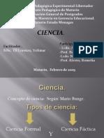 ciencia, según Mario Bunge