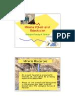 Mineral Resources of Balochistan
