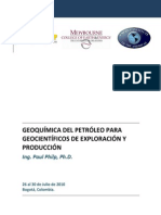 Geoquimica Del Petroleo