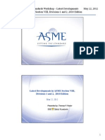 ASME Mexico Workshop - Section VIII - R3 - Presenation