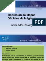 Impresion de Mapas Oficiales en CDOL.lds.Org