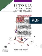 Revista de Historia Oral 2003