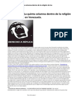 Los Catolicos La Quinta Columna - Ruben Cuevas