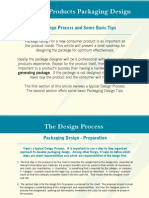 Packaging Design Process Tips