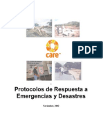 Protocolos de Respuesta a Desastres