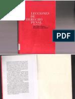 Lecciones de Derecho Penal. Juan Bustos