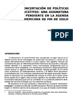 08. La Concertación de Políticas Educativas... Daniel F. Filmus