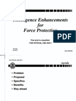 T2 B9 JITF-CT Fdr- Briefing Slides- DOD- Intelligence Enhancement for Force Protection 140