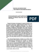 3. LA POSTURA DE EDITH STEIN DENTRO DEL MOVIMIENTO FENOMENOLÓGICO HANS RAINER SEPP