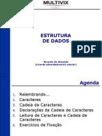 UNIDADE I - CAPÍTULO 07 - CADEIA DE CARACTERES - AULA 01