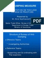AD Measure - Thailand Defensive Practices[1]