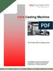 Core Casting Machine