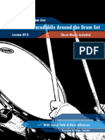 127 Live Lesson 12 Double Paradiddle Around Set
