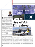 Air Zimbabwe CEO interview