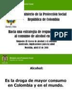 Consumo de Alcohol en Colombia