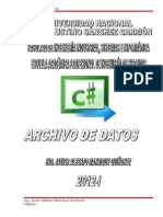 ArchivoDeDatos2012 I