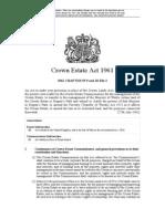 Crown Estate Act 1961