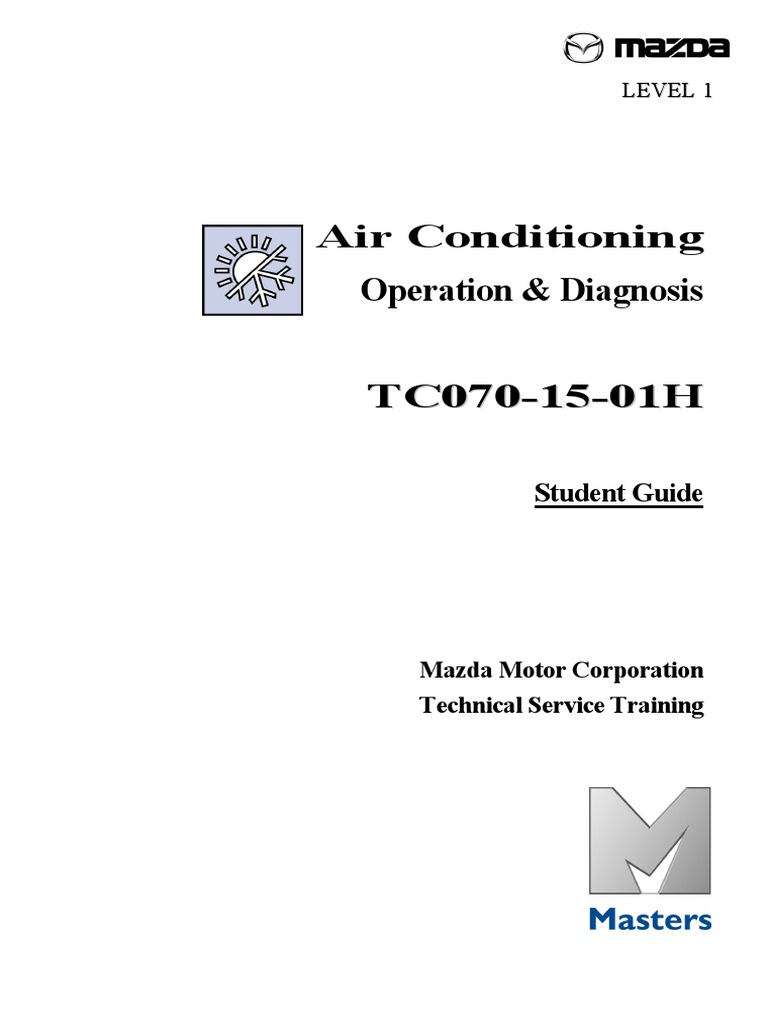 Manual AA Mazda | Air Conditioning | Hvac