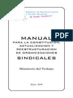 Manual de Asociaciones Sindicales