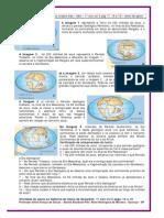 Da Pangeia até os nossos dias - Geo - 1º ano - vol 3 págs. 17, 18 e 19