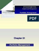 c21 Portfolio Management