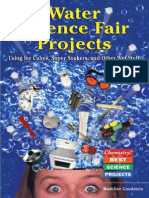 3400.Water Science Fair Projects. Using Ice Cubes, Super Soakers, And Other Wet Stuff by Madeline P. Goodstein