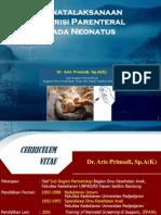(3) Dr. Aris - Penatalaksanaan Nutrisi Parenteral Pada Neonatus