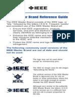 Using the IEEE Master Brand