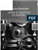 Castoriadis, Cornelius - Sobre El Político de Platón