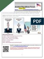 NSRF October 2013 Newsletter