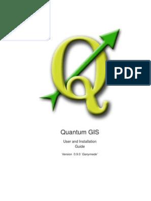 2205934 Quantum Gis User Guide | Application Software