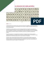 Descubren nuevo elemento de la tabla periódica