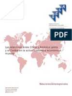 Las relaciones entre China y América Latina y el Caribe en la actual coyuntura económica mundial